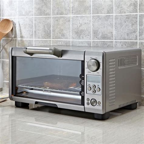 Breville Toaster Oven by Breville Mini Smart Toaster Oven Brushed St Steel