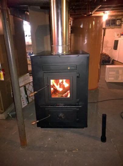 englander  sq ft wood burning add  furnace