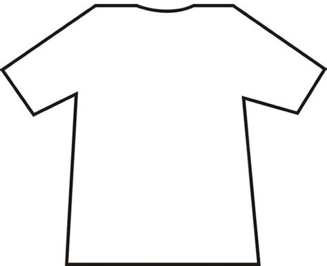 T Shirt Printable Template