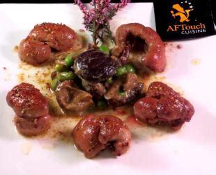 aftouch cuisine escalopes de rognons de veau facile recette escalopes de rognons de veau facile aftouch cuisine