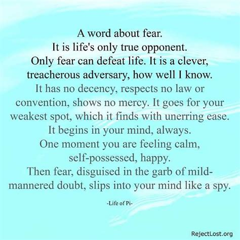 overcoming fear quotes  inspire