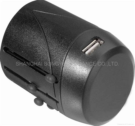 universal travel adapter with usb wy 03 with usb