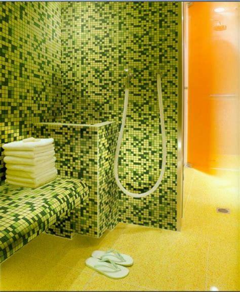 Badezimmer Fliesen Orange by Badezimmer Mit Mosaik Gestalten 48 Ideen Archzine Net