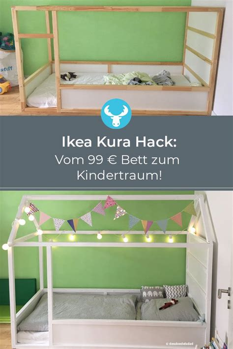 Ikea Kura Anleitung by Ikea Kura Hack Ein Kinderbett Mit Dach Zum Selber Bauen W