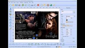 how to design and print dvd cover without photoshop youtube With dvd cover printing software
