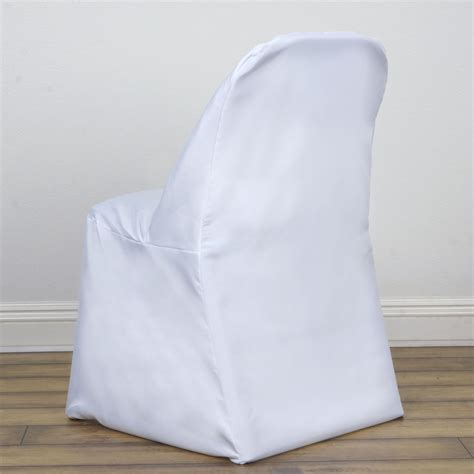 white folding chair cover efavormart