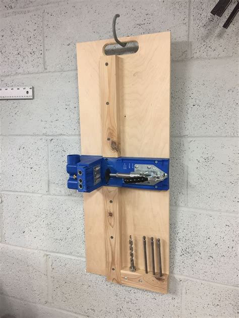 kreg  mount includes big holder woodworking projects