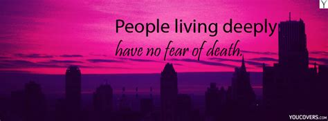 facebook cover quotes  fear quotesgram