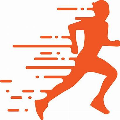 Runner Running Transparent Clipart Logos Silhouette Silhouettes