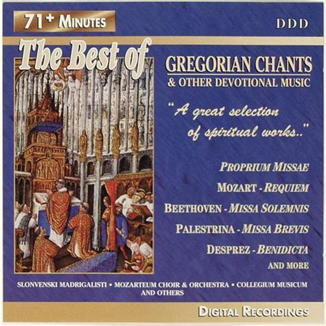 best of gregorian chants other devotional cd still relevant