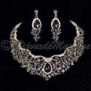parure bijoux doree volupte coloris au choix With parure mariage diamant