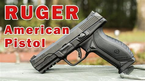 ruger american pistol review youtube