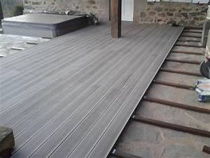 Lame De Terrasse Composite Castorama : parquet pour terrasse exterieur castorama avec terrasse en ~ Dailycaller-alerts.com Idées de Décoration