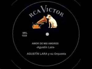 amor de mis amores agust 237 n lara y su orquesta youtube