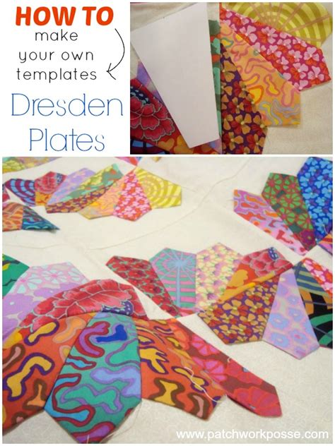 dresden plate quilt pattern free how to make your own dresden plate templates