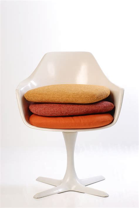 new replacement cushion for burke tulip chair by midcentury8