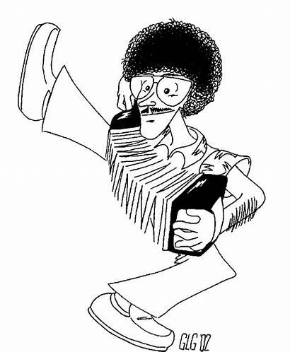 Weird Al Yankovic Hirschfeld Fan Caricature Miscellaneous