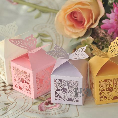 Bridal Shower Supplies Wholesale - wholesale butterfly favor box gift boxes wedding