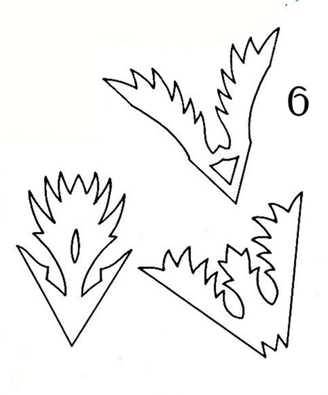 fold paper   snowflake   cut