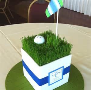 Pinterest Golf Tournament Centerpieces
