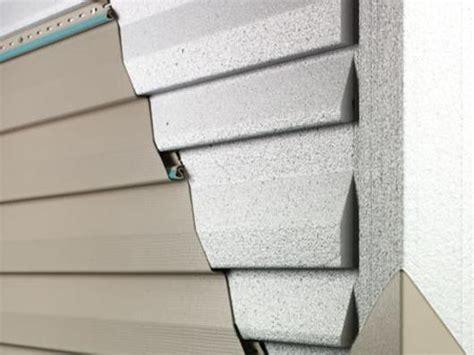 insulated fullback foam siding siding insulation