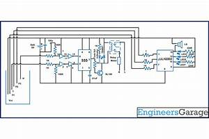Water Level Controller Cum Indicator Circuit Diagram