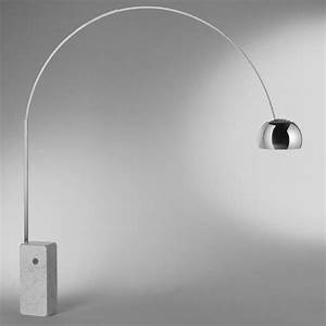 Arco led floor lamp flos ambientedirectcom for Flos arco floor lamp led