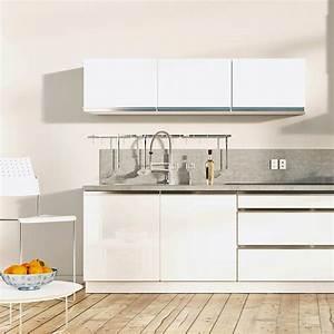 Cuisine Blanche Plan De Travail Gris : quel plan de travail choisir pour une cuisine blanche ~ Melissatoandfro.com Idées de Décoration
