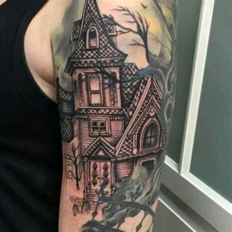 I would love a haunted house with graveyard and creepy ...