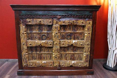 Möbel Farbe ändern by Kommode Kolonial Antik Schrank Holz Massiv Indien