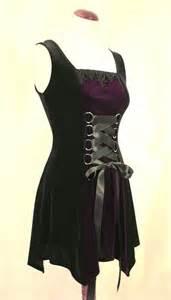 Purple and Black Victorian Goth