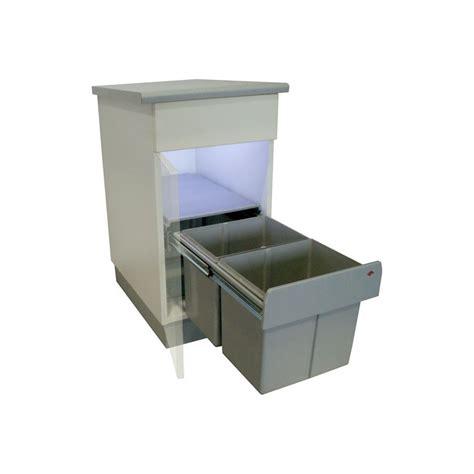 cuisine basse poubelle sous évier cuisine 30 litres