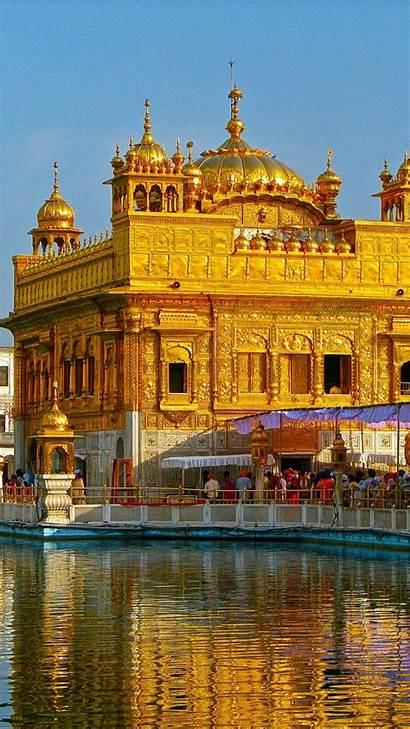 Temple Golden Sahib Harmandir India Punjab Amritsar