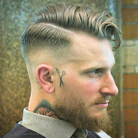 hard part haircut mens hairstyles haircuts