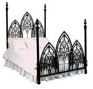french gothic iron bed gothic pinterest