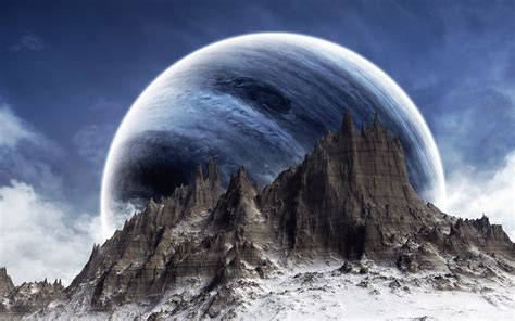 planet rise hd wallpaper and background image