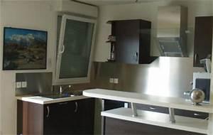 Revetement Mural Pour Cuisine : revetement mural inox pour cuisine ~ Premium-room.com Idées de Décoration