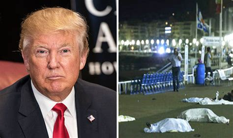 donald trump reacts  nice terror attack  postpones vice president announcement world