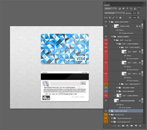bank card psd template  behance