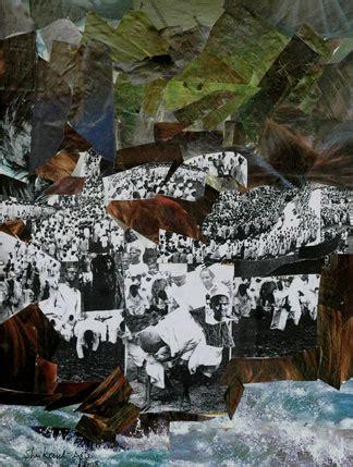 dandi march  collage  shrikant apte