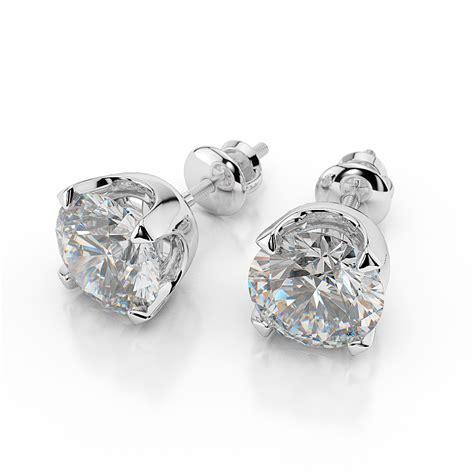 nataliacerri ct    cut diamond stud earrings