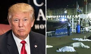 Donald Trump reacts to Nice terror attack and postpones ...