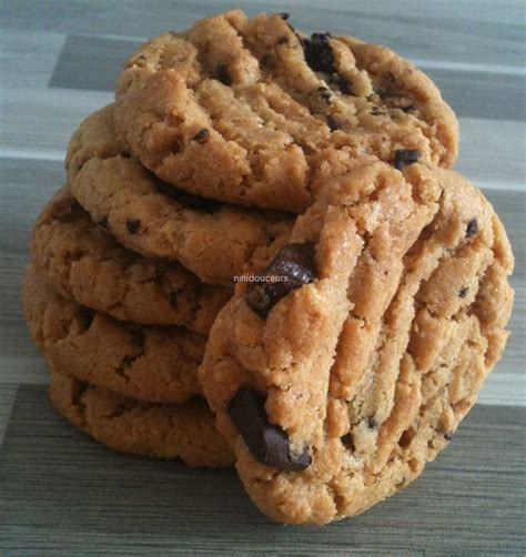 cookies au beurre de cacahu 232 te les p tites douceurs de nini
