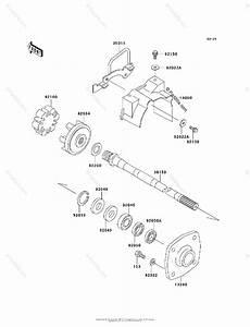 Kawasaki Jet Ski 2001 Oem Parts Diagram For Drive Shaft