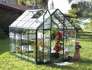 Snap & Grow™ Green Greenhouse - 6 x 8 - HG6008G