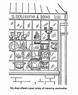 Coloring Early American Pages Society 820px 55kb Printables Drawings Usa sketch template