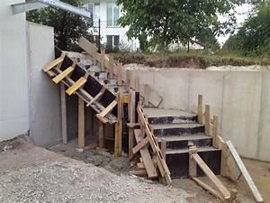 Bodenplatte Selber Machen : hangsicherung und betontreppe hausbau ein baublog ~ Whattoseeinmadrid.com Haus und Dekorationen