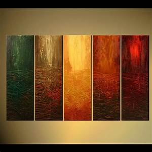Painting - abstract contemporary painting vertical