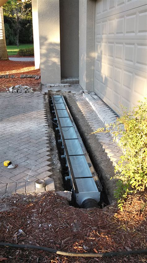 driveway flooding solutions the gallery for gt underground parking lot design