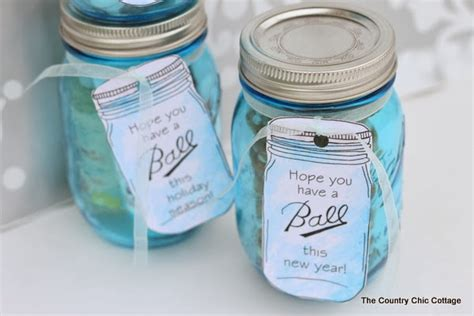 Cottage Bedroom Furniture by Ball Mason Jar Labels For Gifts The Country Chic Cottage